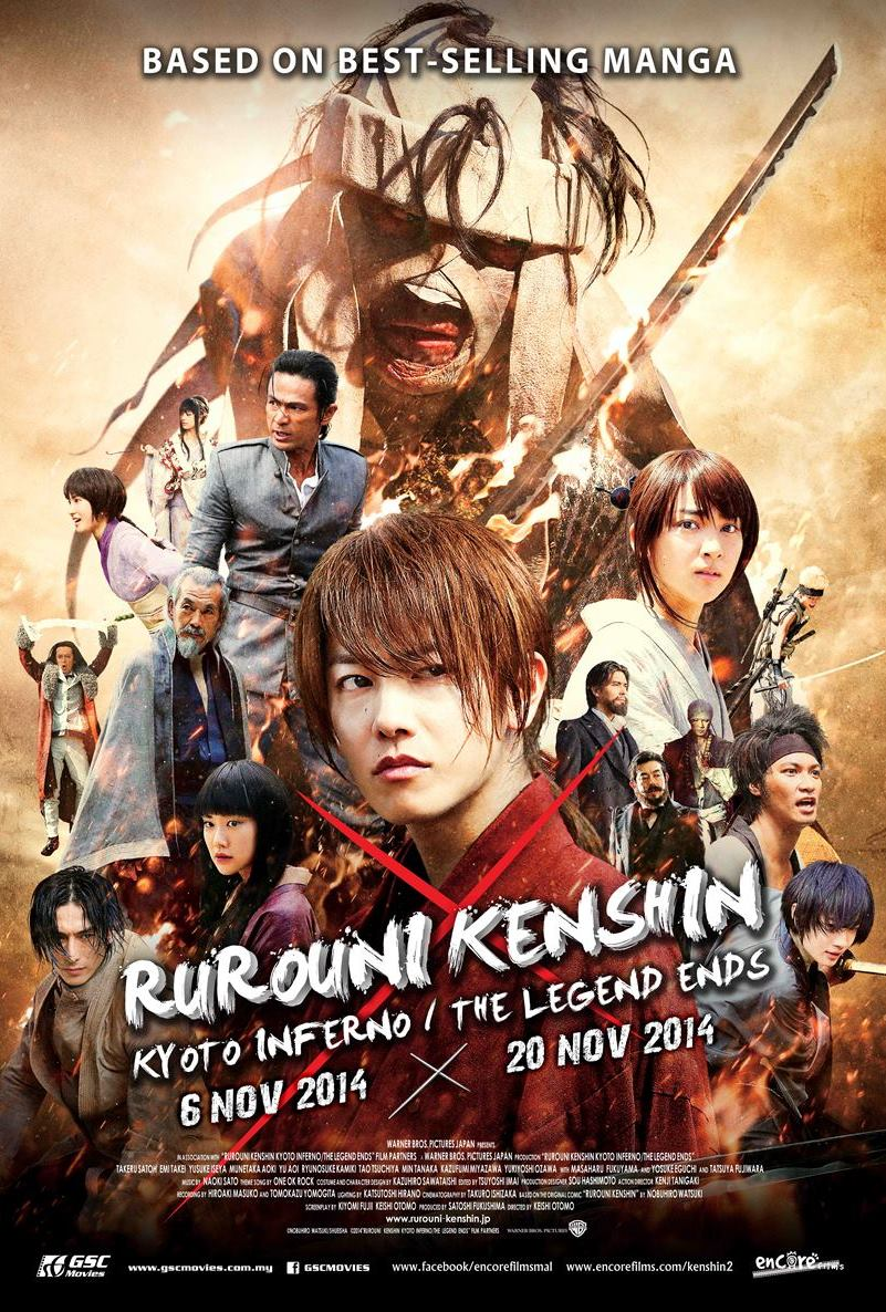 Rurouni kenshin the legend ends full movie