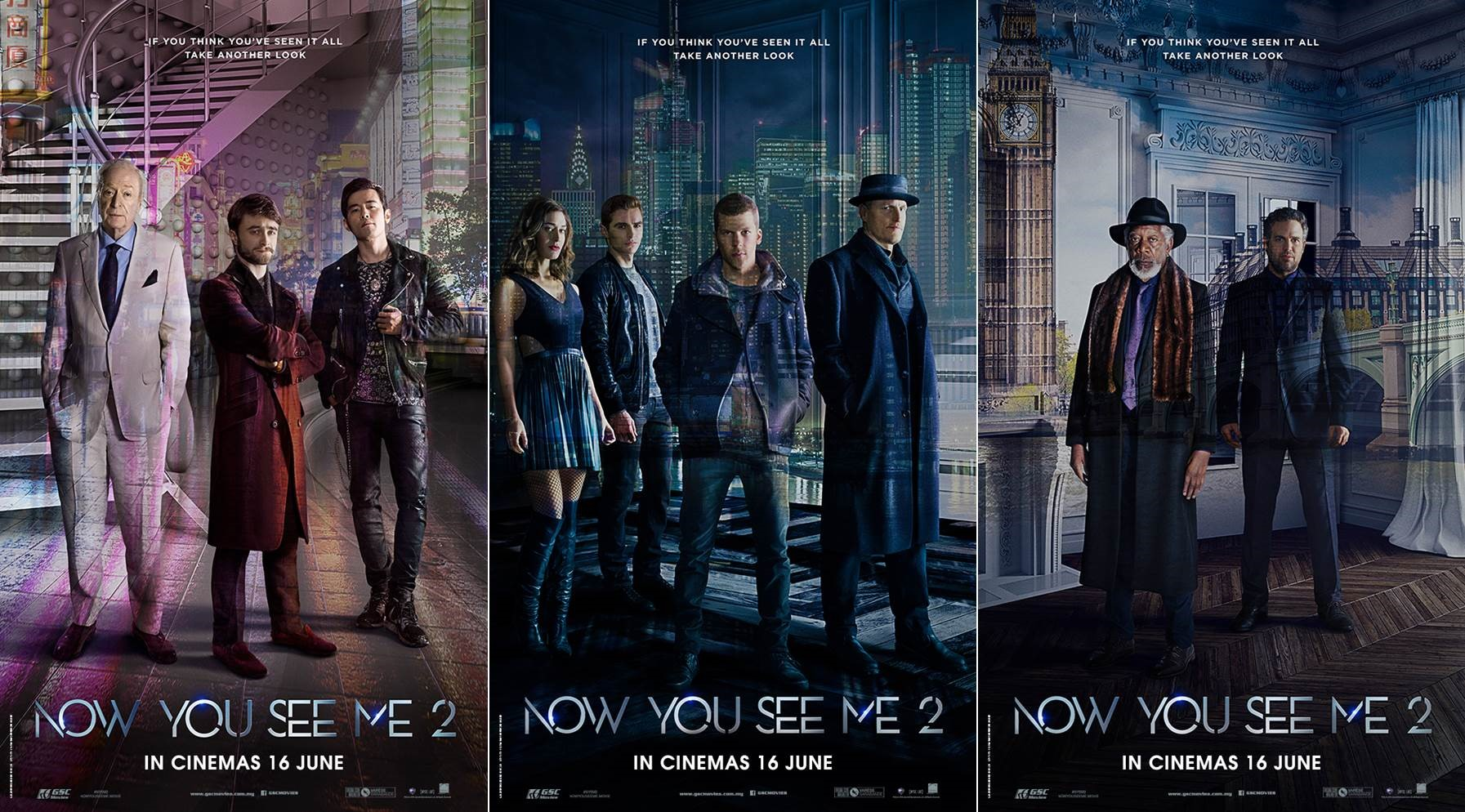 Now You See Me 2 Exciting Action Movies Gsc Movies