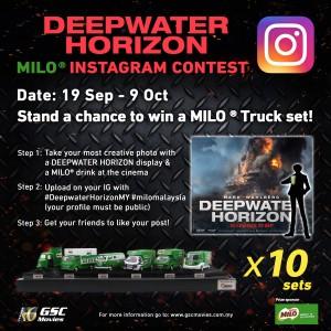 Deepwater Horizon Instagram Contest Terms & Conditions