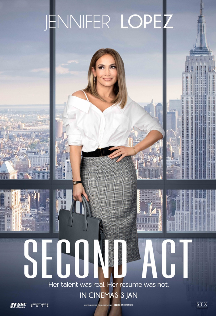 Second Act - comedy movie Jlo
