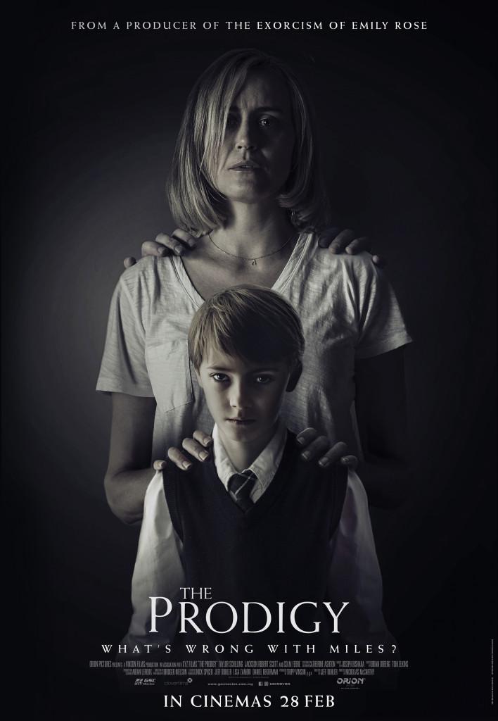 Prodigy thriller movie poster