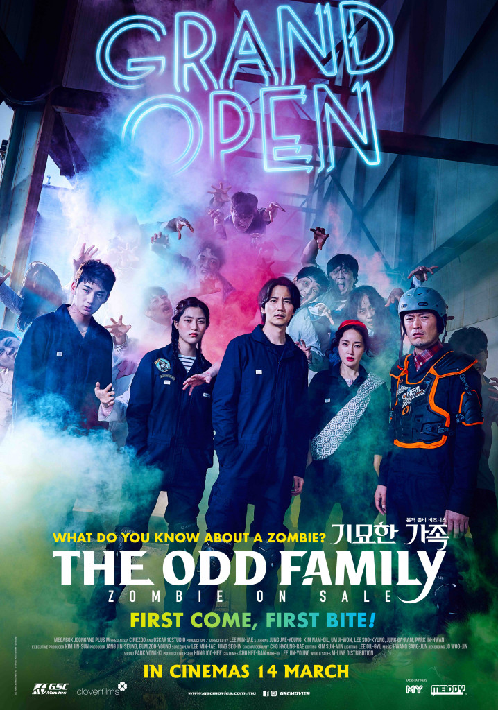 zombies movie - The odd family poster