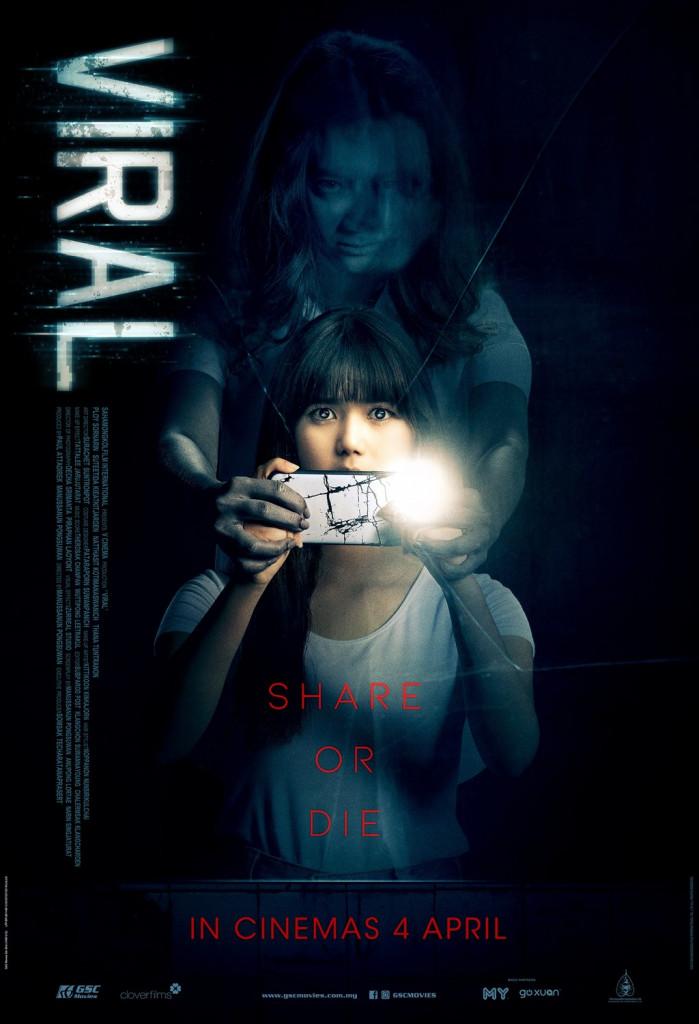 viral horror movie poster
