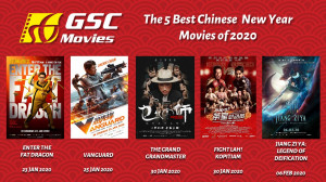 GSC Movies | 5 Best Chinese New Year Entertainment of 2020 | Cover