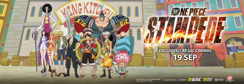 ONE PIECE STAMPEDE| GSC Movies | Films Distributors |Malaysia